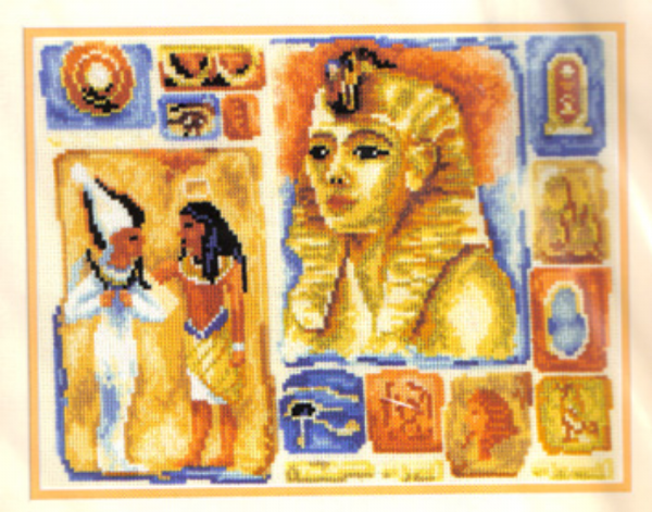Egypt (Linen) Cross Stitch Kit
